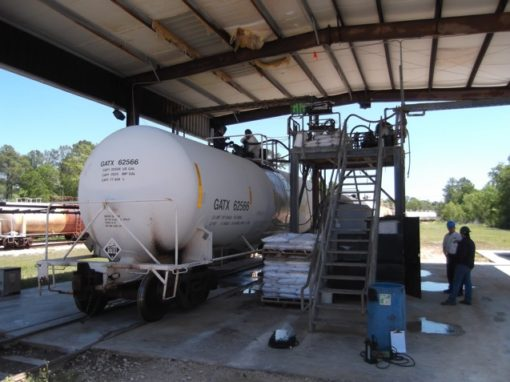 Railcar & Chemical Tank Cleaning