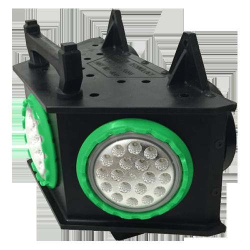 4100 LED - Mountable Area Light (3-Way Lamp), Temporary job site lighting, ordinary location lighting