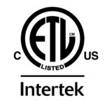 ETL listed, intertek, US, Canada, NRTL