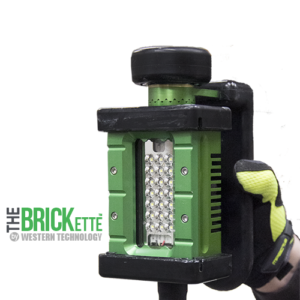 The BRICKette™, 2016 LED, BRICKette, KICK-IT TOUGH™ LED Safety Lights, Portable LED Work Lights, Explosion Proof, Western Technology, inc.