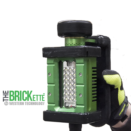 The BRICKette, brickette, 2106, led, explosion proof, work light, portable, c1d1, Class 1 Div 1, LVLE, magnetic mount, wet location, type 6p