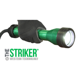 The STRIKER™, striker, 8100, LED, Hand-held, explosion proof, drop light, work light, blast light, portable, LVLE, class I, class 1, Div 1, Div 2