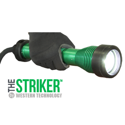 The STRIKER™, 8100 LED Hand-held Explosion Proof Drop Light, hazardous location lighting, portable LED work light, C1D1, C2D2, temporary led lighting, explosion proof inspection/work light & drop light