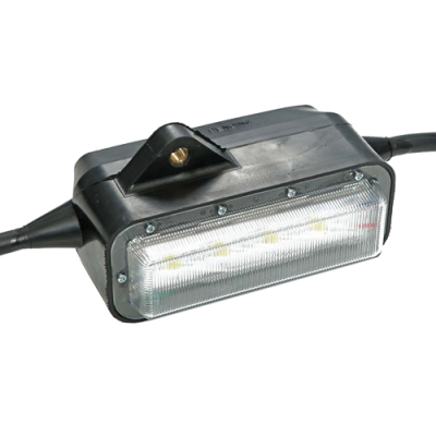 Model 4300 LED Series, Wide Area String Light, string work light, temporary job site, ordinary location lighting, wide area light, construction string light, magnetic mounting, LED, link light, light heads,