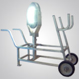 Model 6300 Series, Explosion Proof LED High Bay Area Light, high bay, area light, hand cart, mounting bracket