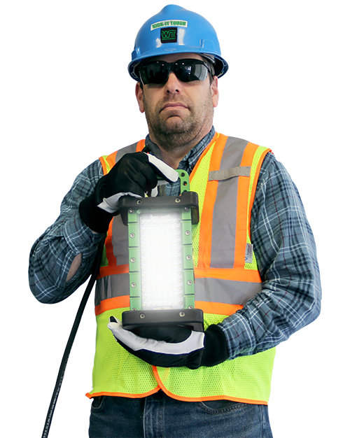 portable, led, work lights, brick light, 9610, explosion proof, light, reliable, rentals,
