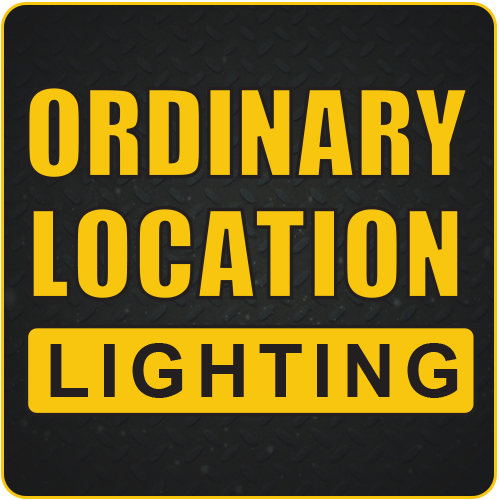 Ordinary Location Lighting, ordinary location lights, temporary job site lighting, temporary jobsite lighting, temporary lights, portable work lights, portable led work lights, non-hazardous work lights, non-hazardous locations