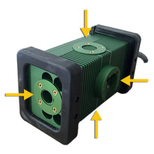 The BRICK™, 9610 BRICK, Mounting Options, 4 Mounting Locations, brick light, 9610 LED, Portable Explosion Proof Area Light, explosion proof, LED, Hazardous Location Lighting, Portable LED Work Light, C1D1, C2D2, Class 1 Div 1, Class I Div 1, Class 1 Div 2, Class I Div 2, Class 2 Div 1, Class II Div 1, Class 2 Div 2, Class II Div 2, KICK-IT TOUGH™ LED Safety Lights, Work Light, Wet Location, portable, paint booth lighting, Type 6P, LED Work Lights, LED work light, Explosion Proof Light, explosion proof lights, Explosion Proof LED Light, Explosion Proof lighting, Explosion Proof LED Lighting, portable explosion proof light, Low Voltage, LVLE, mechanical mounting, magnetic mounting, blast & paint, inspection, portable luminary, portable luminaire, 36 VDC, 24 VDC, 12 VDC