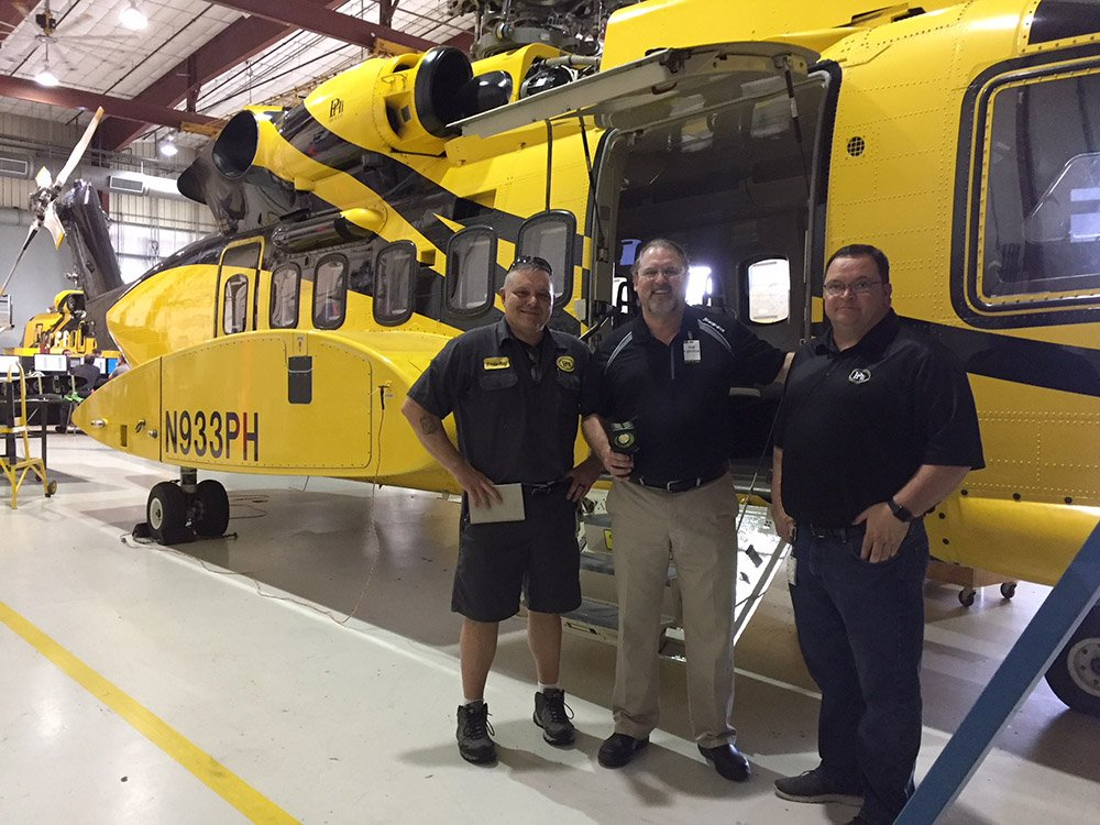 Demo of The BODYLight™ to PHI Helicopters