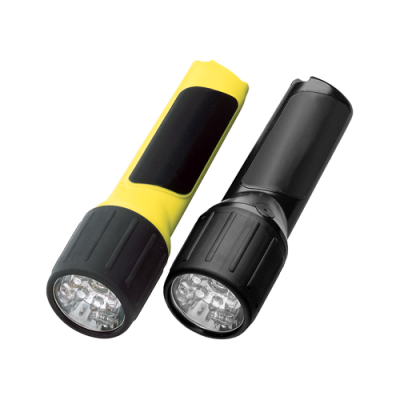 4AA, PROPOLYMER®, LED FLASHLIGHT, Safety-Rated Battery-Powered Flashlight, safety rated, safety-rated. battery-powered, hazloc, intrinsically safe, intrinsically safe lighting, intrinsically safe flashlight, hazardous location lighting, Class I Div 1, safety-rated battery-powered flashlight