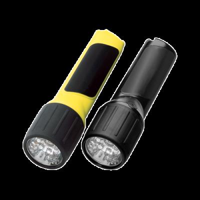 4AA, PROPOLYMER®, LED FLASHLIGHT, Safety-Rated Battery-Powered Flashlight, safety rated, safety-rated. battery-powered, hazloc, intrinsically safe, intrinsically safe lighting, intrinsically safe flashlight, hazardous location lighting, Class I Div 1, safety-ratedbattery-powered flashlight