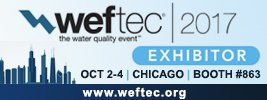 WEFTEC 2017, water quality event, expo, conference, Chicago, booth #863, exhibitor, Western Technology