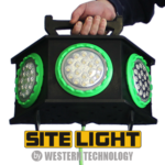 SITE LIGHT, 4100, LED, temporary job site lighting, portable, work light, rentals