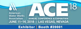 AWWA, awwa, ace, american water works association, annual conference & exposition, 2018, las vegas, nevada, nv, exhibitor, booth #20001