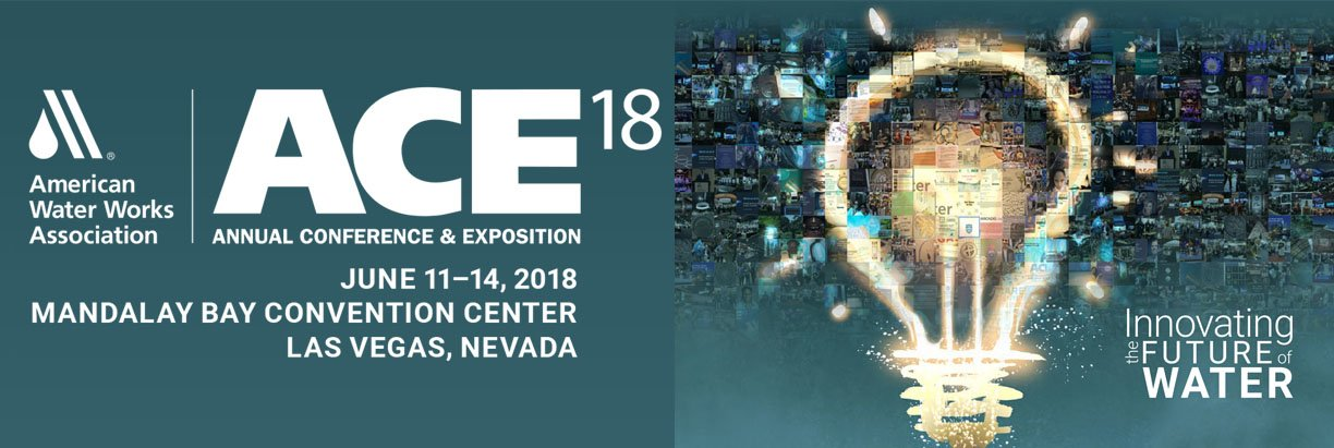AWWA, ACE, 18, 2018, Las Vegas, NV, expo, conference, exhibitor, american water works association, annual conference & exposition, mandalay bay