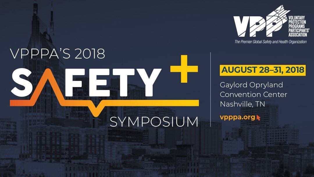 2018 VPPPA Safety Symposium, safety, expo, conference, exhibitor, gaylord opryland convention center, nashville, TN, August 28-31