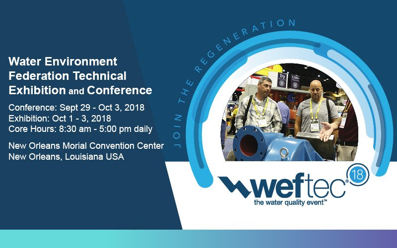 weftec 2018, weftec, 2018, exhibitor, booth #7919, new orleans, LA, the water quality event, Western Technology