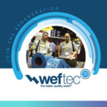 WEFTEC 2018, join the regeneration, the water quality event